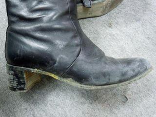 ブーツ カビ除去
