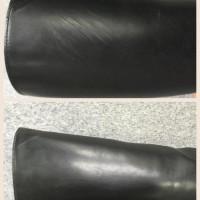 ブーツ 側面 擦り傷 修復