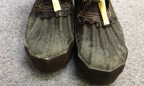 ブーツ カビの被害が続発!